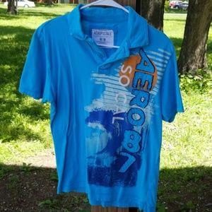 Aeropostale Polo Shirt Size Medium